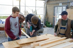 Retired Tradespeople Help Ease Students Into Workforce